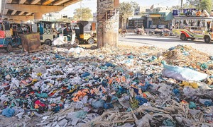 Govt may cancel Chinese firm's contract to lift garbage from  West, Malir districts