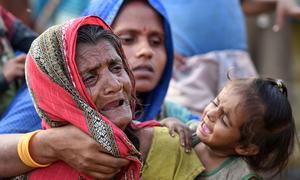 نیپال میں طوفان سے تباہی