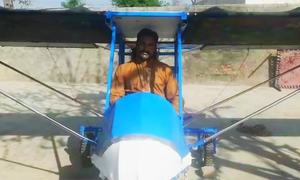 Pakpattan man arrested over 'flying machine' demands return of impounded airplane
