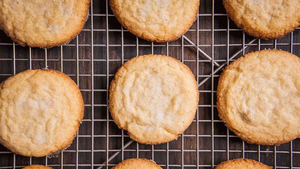 We've got the perfect recipe for crisp, buttery sugar cookies