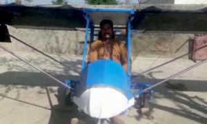 پاکپتن: پولیس نے مالک کو  جہاز  واپس کردیا