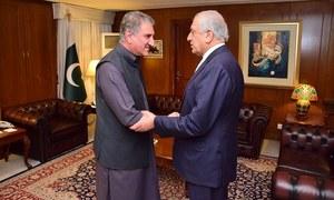 Intra-Afghan dialogue a vital component of reconciliation process, Qureshi tells US special envoy