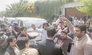 NAB's attempt to arrest Hamza goes awry