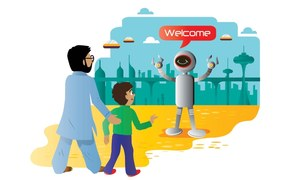 Story Time: Robot world