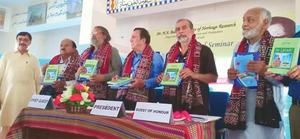 Two books launched at seminar on Dr N.A. Baloch