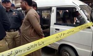کراچی: فائرنگ سے پولیس اہلکار سمیت 2 افراد جاں بحق