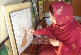 This artist from Peshawar is calling for a creative platform for young women in her village