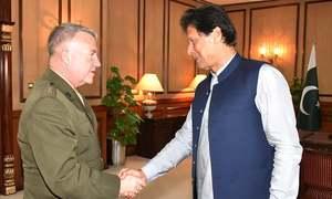 PM Khan, Centcom chief Gen McKenzie discuss Afghan peace