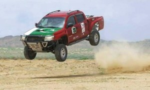 Chakwal's first Jeep Rally highlights district's potential for tourism