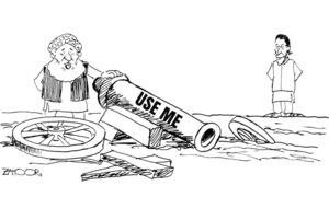 Cartoon: 11 April, 2019