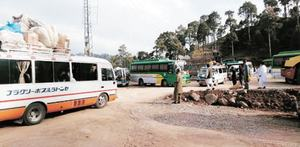 Commuters suffer due to row between transporters