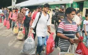 100 Indian fishermen released