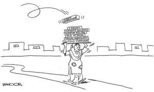 Cartoon: 15 April, 2019