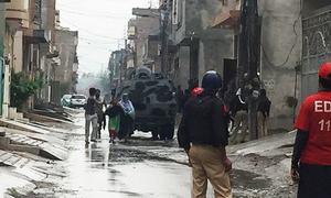 پشاور: سیکیورٹی فورسز کا آپریشن مکمل، 5 دہشت گرد ہلاک