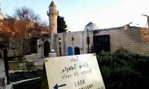 اسرائیل: مسجد شراب خانے میں تبدیل کردی گئی