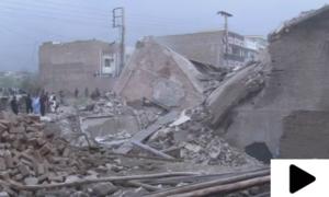 حیات آباد میں دہشتگردوں کے زیر استعمال مکان زمین بوس کر دیا گیا