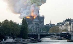 'نوٹرے ڈیم گرجا گھر کو خود فرانسیسیوں نے تباہ کرڈالا'