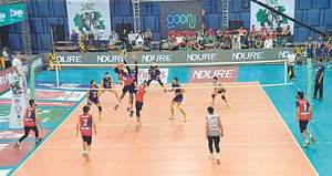 Six ties decided at national volleyball