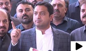 خرم شیر زمان کا اسپیکر سندھ اسمبلی کے خلاف ایف آئی آر درج کرانے کا اعلان