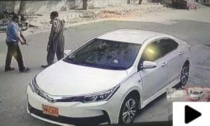 کراچی میں مسلح ڈاکوؤں نے شہری سے گاڑی چھین لی