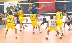 Volleyball  reaches last-eight league stage