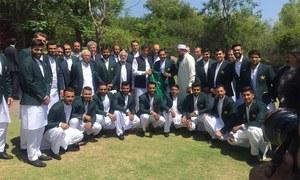 قومی ٹیم کی ورلڈ کپ سے قبل وزیر اعظم عمران خان سے ملاقات