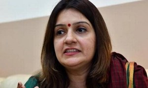 Congress spokeswoman quits in middle of Indian election, joins BJP ally