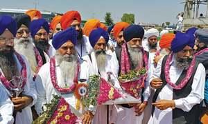 Sikhs celebrate Kartarpur project at Baisakhi
