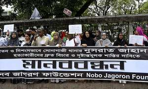 Woman's brutal killing in Bangladesh triggers protests