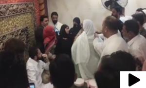 شوہر کا دوسری شادی سے منع کرنے پر پہلی بیوی اور سسر پر تشدد