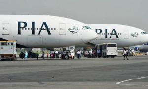 کراچی سے پشاور جانے والی پرواز میں بم کی 'غلط' اطلاع