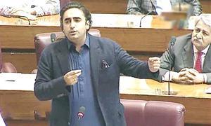 Bilawal's remarks on PM Khan, Asad Umar spark ruckus in the NA