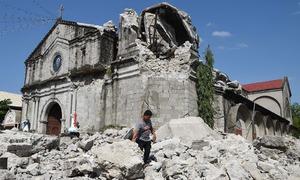 فلپائن میں زلزلے سے 11 افراد ہلاک