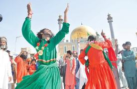 Three years after suicide blast, Qalandar devotees undaunted as ever