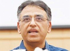 Asad slams PPP in first NA appearance after leaving cabinet