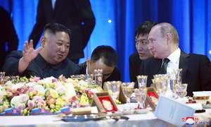 North Korea's Kim tells Putin US acting in 'bad faith', reports local media