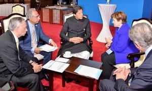 چین میں وزیراعظم عمران خان کی عالمی بینک، آئی ایم ایف کی قیادت سے ملاقاتیں