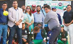 Hyderabad win opener as inter-divisional women's softball begins