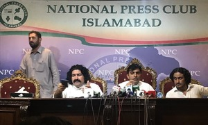 National Press Club says no prior booking made for axed PTM press conference