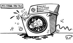 Cartoon: 28 April, 2019