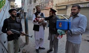 Govt weighs options to cope with aftermath of polio scare