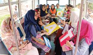 Women-only buses launched in Abbottabad