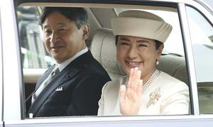 In pictures: Japanese welcome era of 'beautiful harmony' as Emperor Naruhito ascends throne