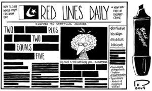 Cartoon: 3 May, 2019