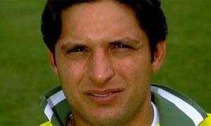 'Afridi was born in 1977'