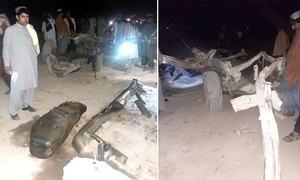 چمن میں دھماکا، قبائلی رہنما 2 محافظوں سمیت جاں بحق