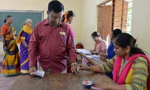 بھارت میں 20 لاکھ ووٹنگ مشینیں غائب ہونے کا انکشاف