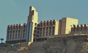 Gwadar hotel building badly damaged in terrorist attack