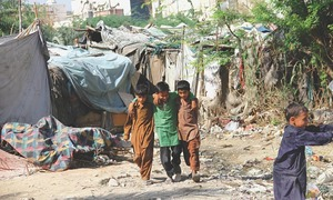 Slum dwellers await govt response for proper facilities