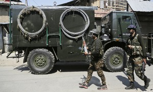 Indian forces kill 3 Kashmiri fighters, 1 civilian in IoK